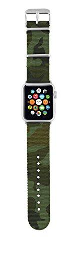 Trust Urban Nylon-Armband (geeignet für Apple Watch 38 mm) camouflage