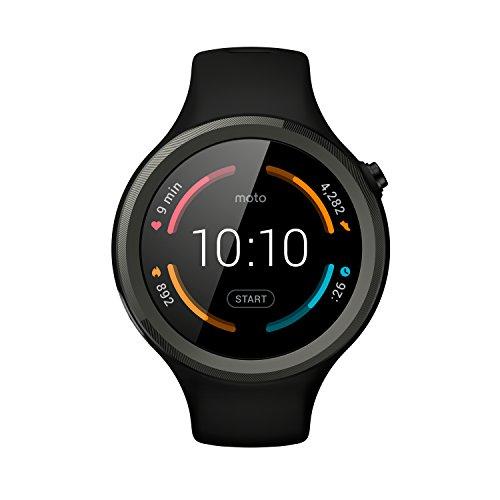 Motorola Moto 360 Sport Smartwatch schwarz