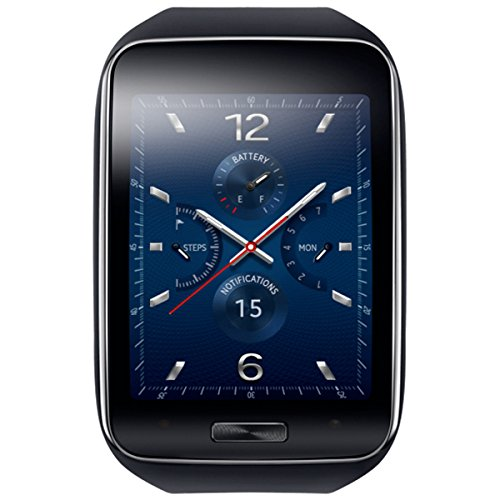 Samsung SM-R7500ZKADBT Gear S in schwarz