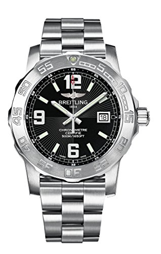 Breitling Herren-Armbanduhr Colt Analog Quarz Edelstahl A7438811/BD45/173A