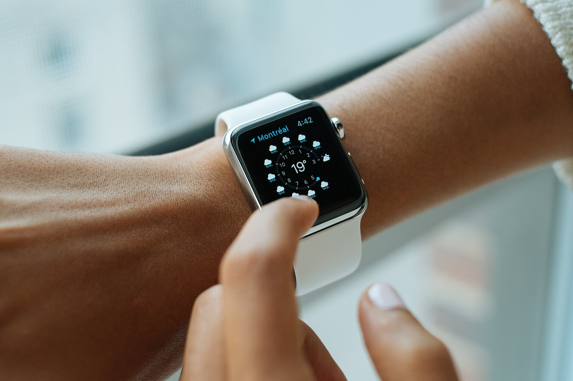 Die Standalone-Smartwatch Gear S der ersten Generation
