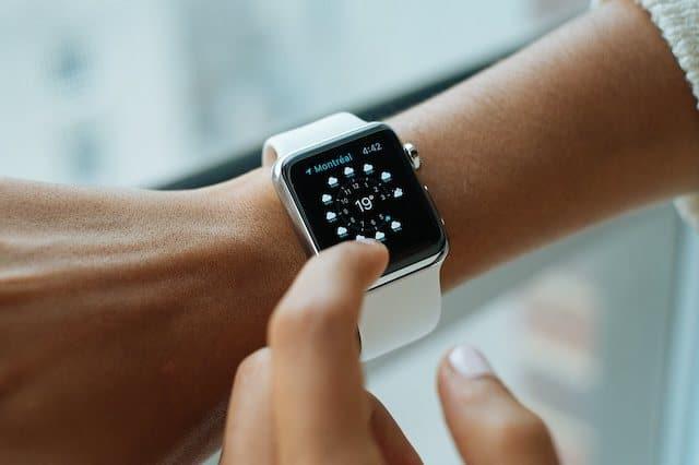 Samsung Smartwatch Patent Gesten