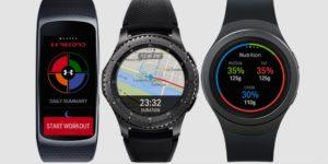 Samsung Gear S2 und Gear S3 mit Apps von Under Armour