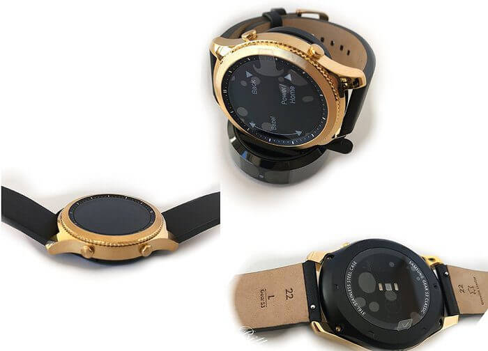 Samsung Gear S3 Gold, Bild: De Billas