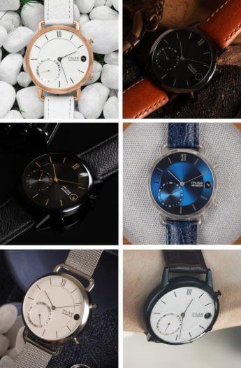 Muse Luxus Hybrid-Smartwatch