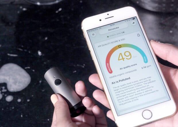 Atmotube Plus Luftqualitäts-Tracker