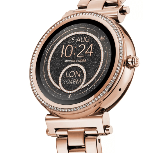 d65997cfc0b Damen-Smartwatch Michael Kors Sofie 2.0 vorgestellt