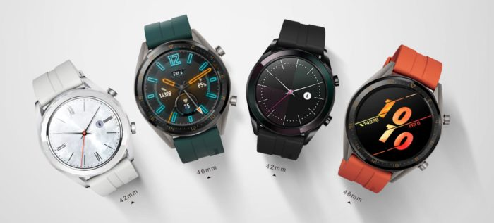 Huawei Watch GT Active Editionen