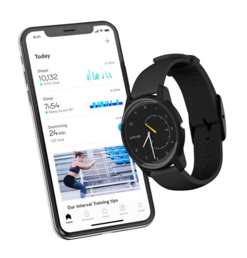 Withings Move personalisierbar