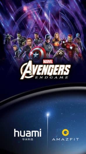 Amazfit Avengers Endgame Edition