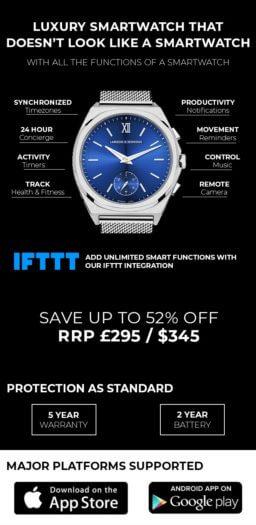 Wave Luxus-Smartwatch