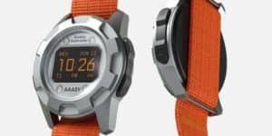 AAASY Supercolor 90er Retro-Armbanduhr