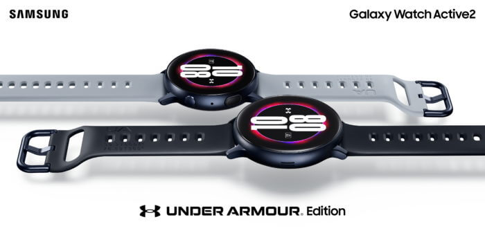 Samsung Galaxy Watch Active2 Under Amour Edition