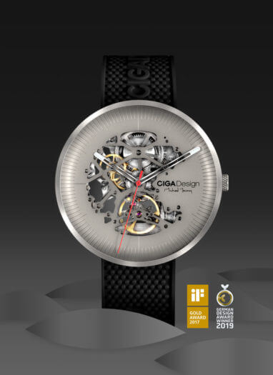 My Series Skelett-Armbanduhr
