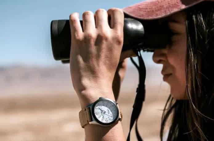 One Eleven Solar-Armbanduhr