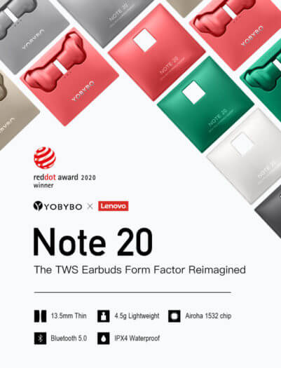 Note 20 TWS Earbuds